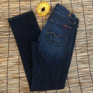 7 For All Mankind Classic Straight Leg Jean 27
